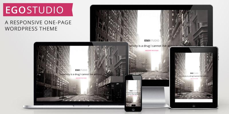 EGOSTUDIO – Onepage Responsive WordPress Theme