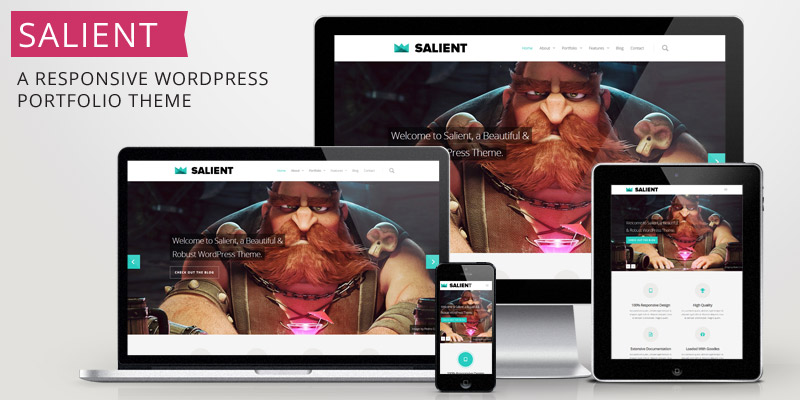 Salient – New Ultra Responsive Theme