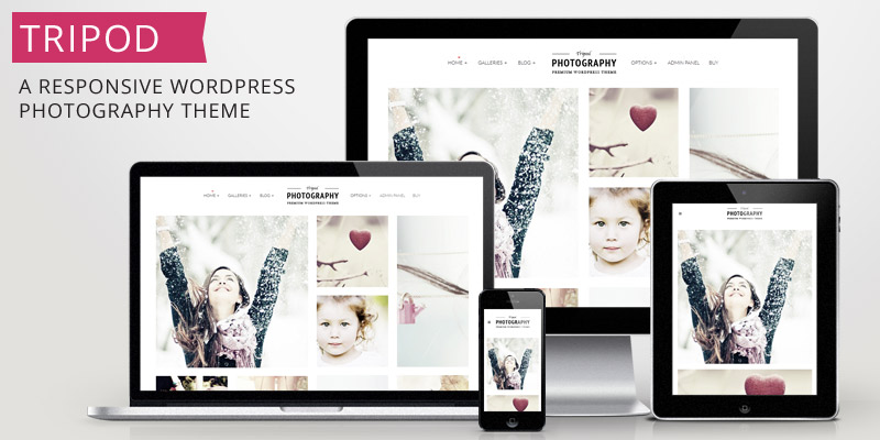 Tripod: Responsive Photography Theme