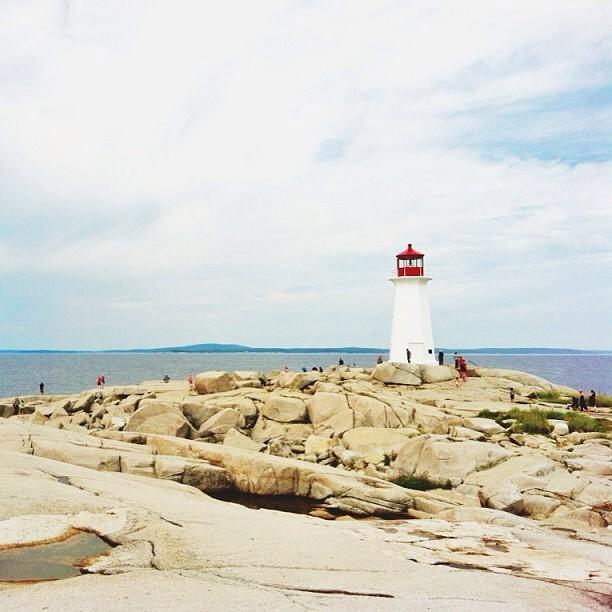 Peggy's Cove, Nova Scotia via @lil_tea