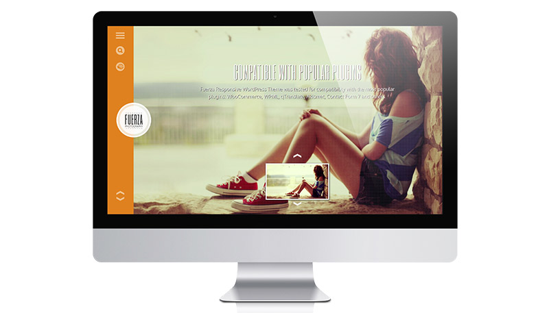A Responsive WordPress Photography Theme with eCommerce – Meet Fuerza