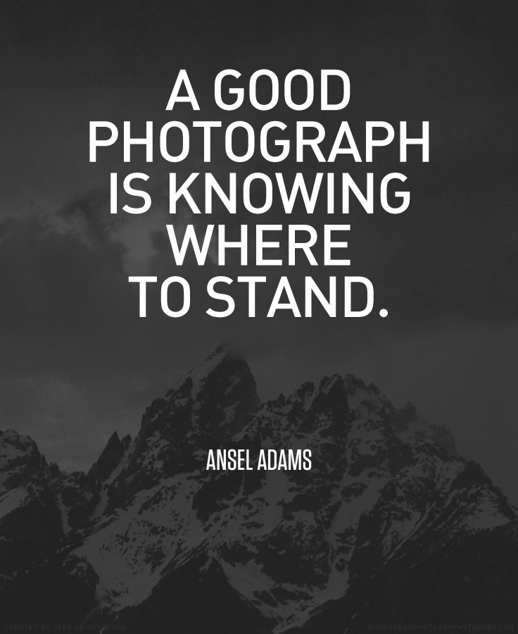 Ansel Adams Photography Quote