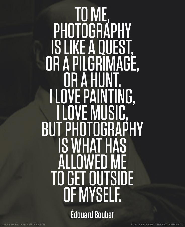 Edouard Boubat photographer quote