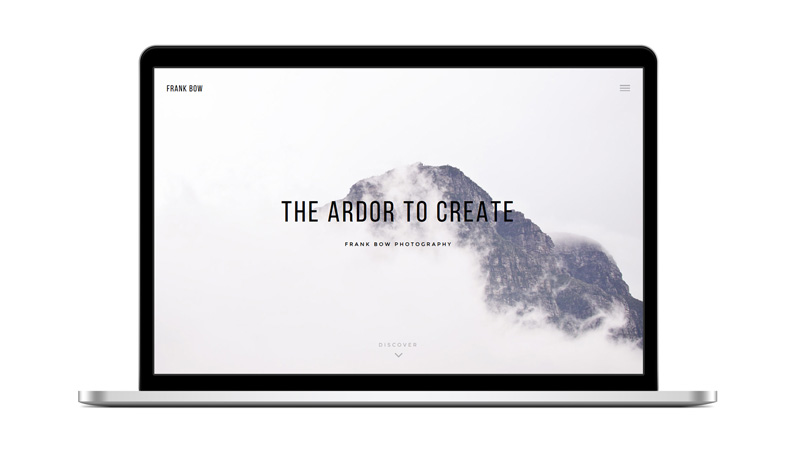 Bow – A Minimal, Elegant Photography Theme