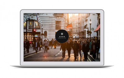 SOHO – Full screen Photo WordPress Theme