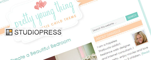 New Pretty Young Thing Child WordPress Theme