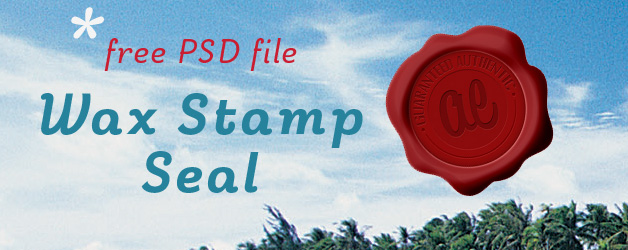Free Wax Stamp Seal PSD