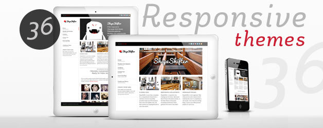 36 Responsive WordPress Themes