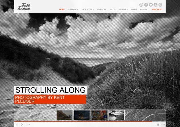 FullScene – A New Portfolio/Photography Theme