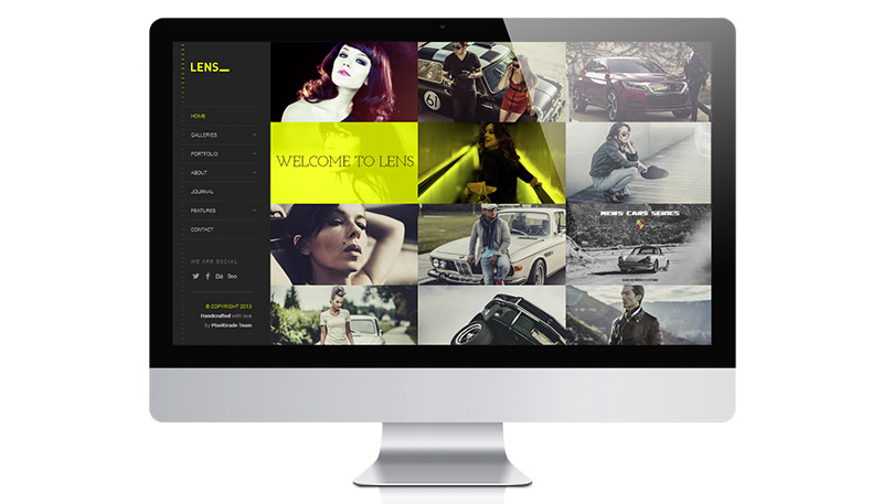 New Modern Photography WordPress Theme