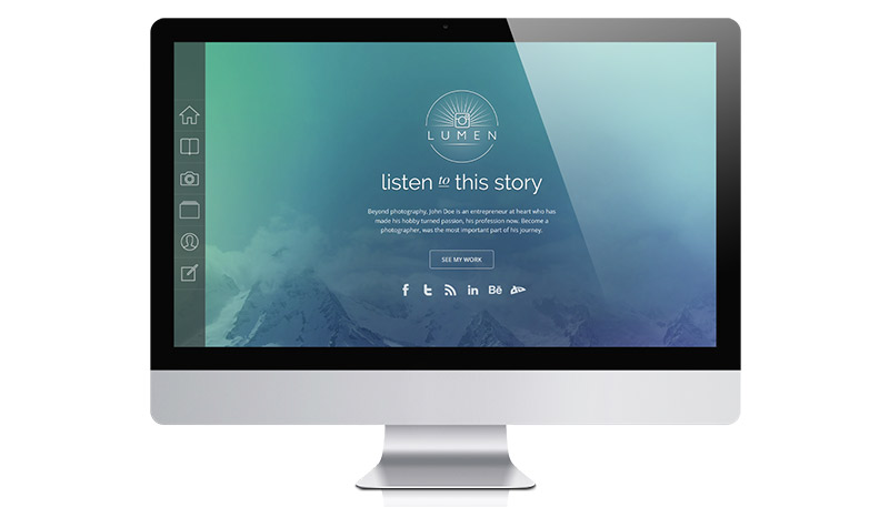 Responsive Photography WordPress Theme: Lumen