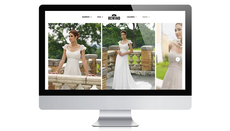 Rewind – Photography WordPress Theme