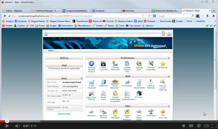 Install WordPress in CPanel using Fantastico DeLuxe